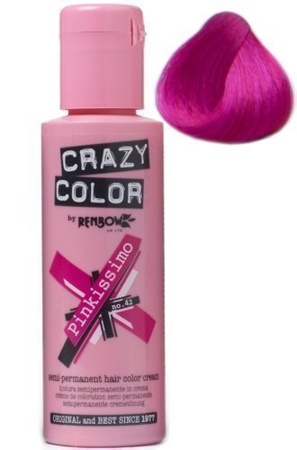 review crazy color pinkissimo renbow crazy color californianas fantasía