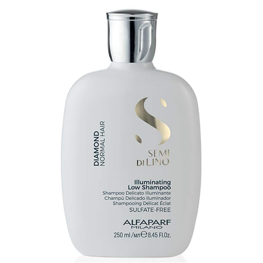 Alfaparf Illuminating Low Shampoo Diamond Semi Di Lino 250ml