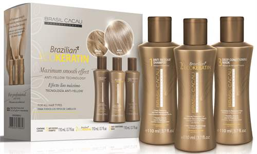 Brasil Cacau EcoKeratin Kit Shampoo + Treatment + Mask 3x110ml
