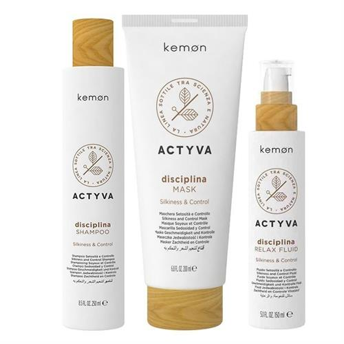 Kemon Actyva Kemon Actyva Kit Disciplina Shampoo 250ml + Mask 200ml + Relax Fluid 150ml