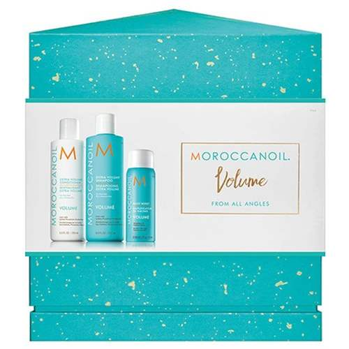 Moroccanoil Moroccanoil Volume For All Angels Shampoo 250ml + Conditioner 250ml + Spray 75ml
