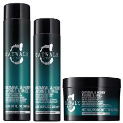 Kit Catwalk Oatmeal e Honey Shampoo 300ml + Conditioner 250ml + Mask 200ml