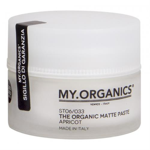 My.Organics My.Organics The Organic Matte Paste 50ml Cera Opaca